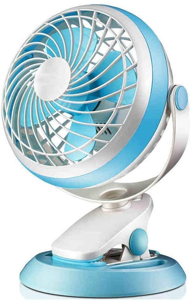 HTL Practical Small Fan Fan Mini Student Dormitory Small USB Desktop Small Fan Office Desk Clip Fan Clip Bed Electric Fan