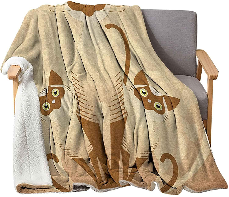 Interestlee Animal Baby Blankets 60