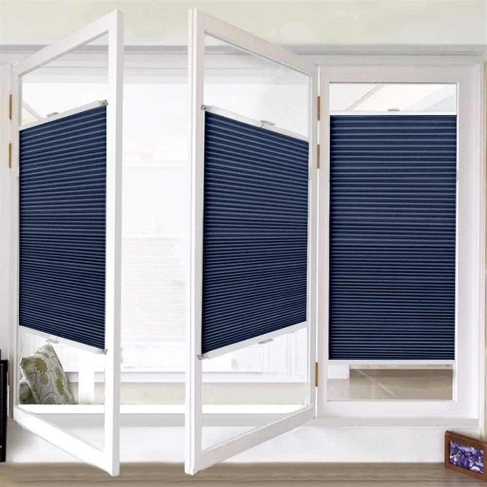 Liveinu Cordless Top Down Bottom Up Cellular Honeycomb Shades Inside Mount Blinds Clamp Install 23