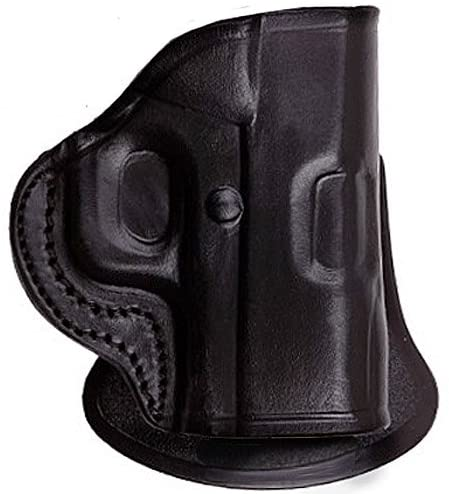 Tagua Gunleather S&W Bodyguard 380 PD2 Quick Draw Paddle Gun Holster, Black, Right Hand