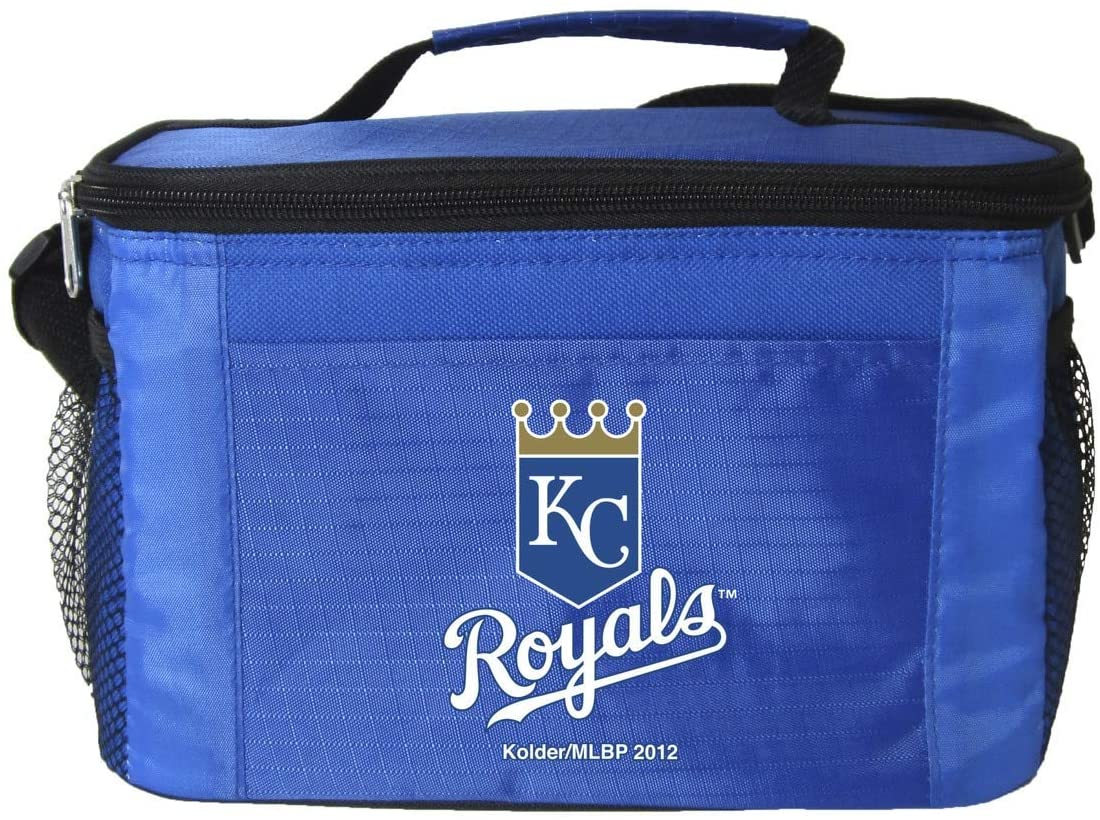 Kolder MLB 6 Pack Coolers - Insulated Lunch Boxes with Zipper