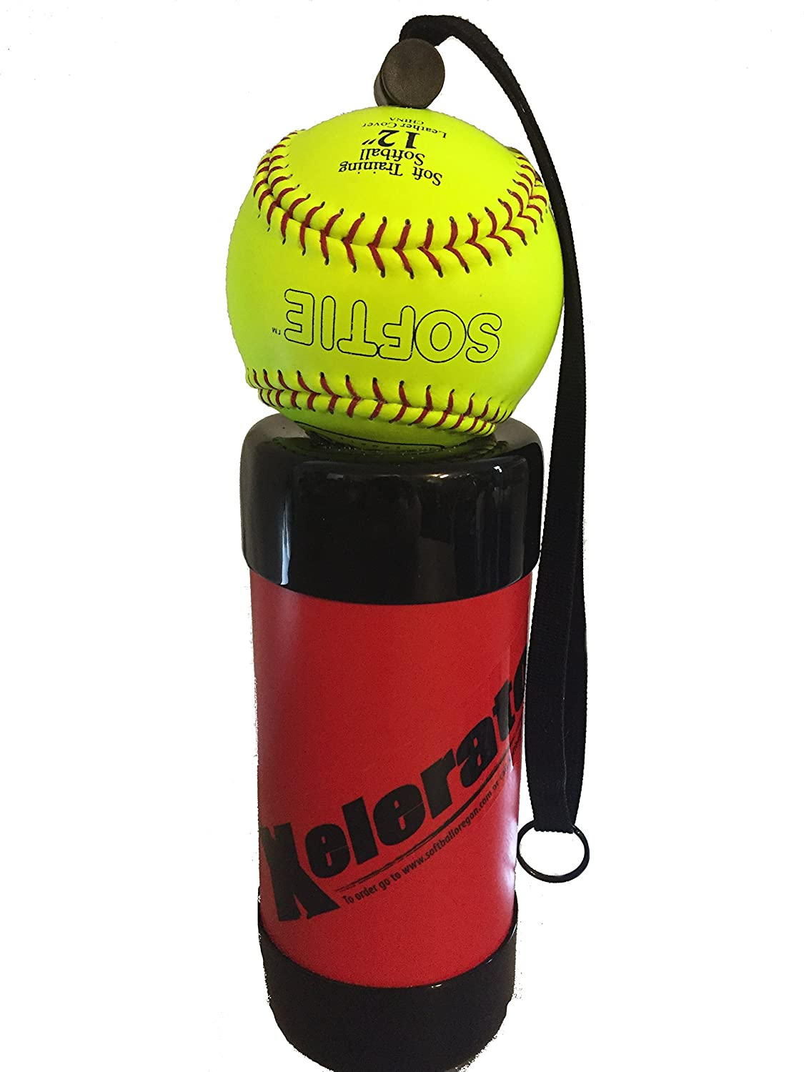 Xelerator 2nd Gen Softball Pitching Trainer w/Leather Ball