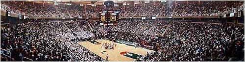 NCAA Michigan State Spartans 2001 Basketball -Breslin Center Stadium Original Signed Photograph , Deluxe Frame, Cherry
