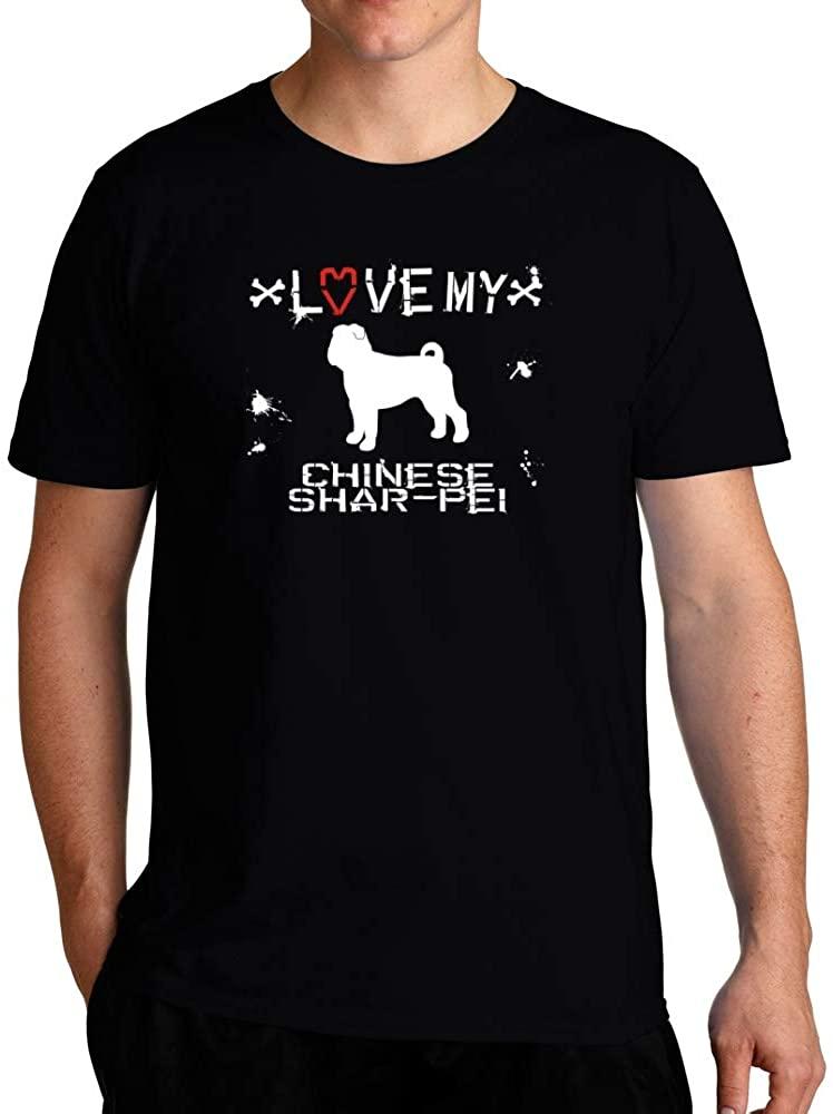 Eddany Love My Chinese Shar pei T-Shirt