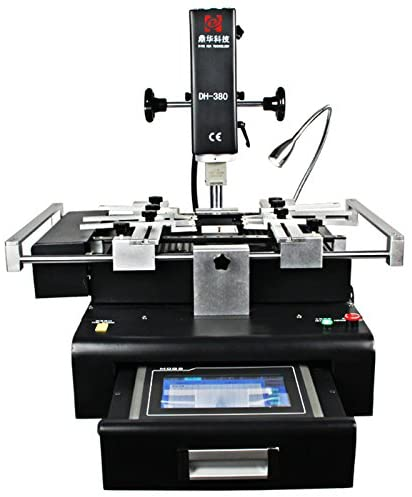 Dinghua 380 110v Three Heating Zone Touch Screen BGA Chip Welding Machine Reball Kit for Cell Phone