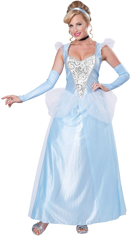 California Costumes Womens Classic Cinderella Long Dress