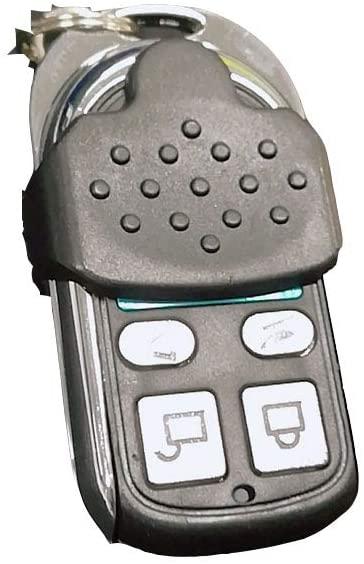 Mini 4 Channel Universal Metal Copy Code Remote Control 418Mhz Support Gate Garage Door Opener Remote Control