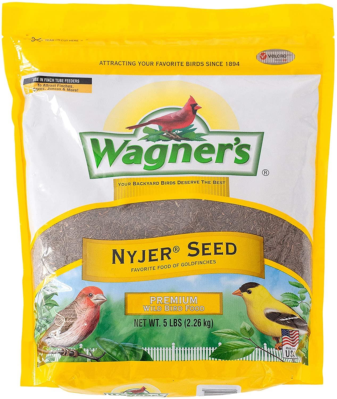 Wagners 62051 Nyjer Seed Wild Bird Food, 5-Pound Bag