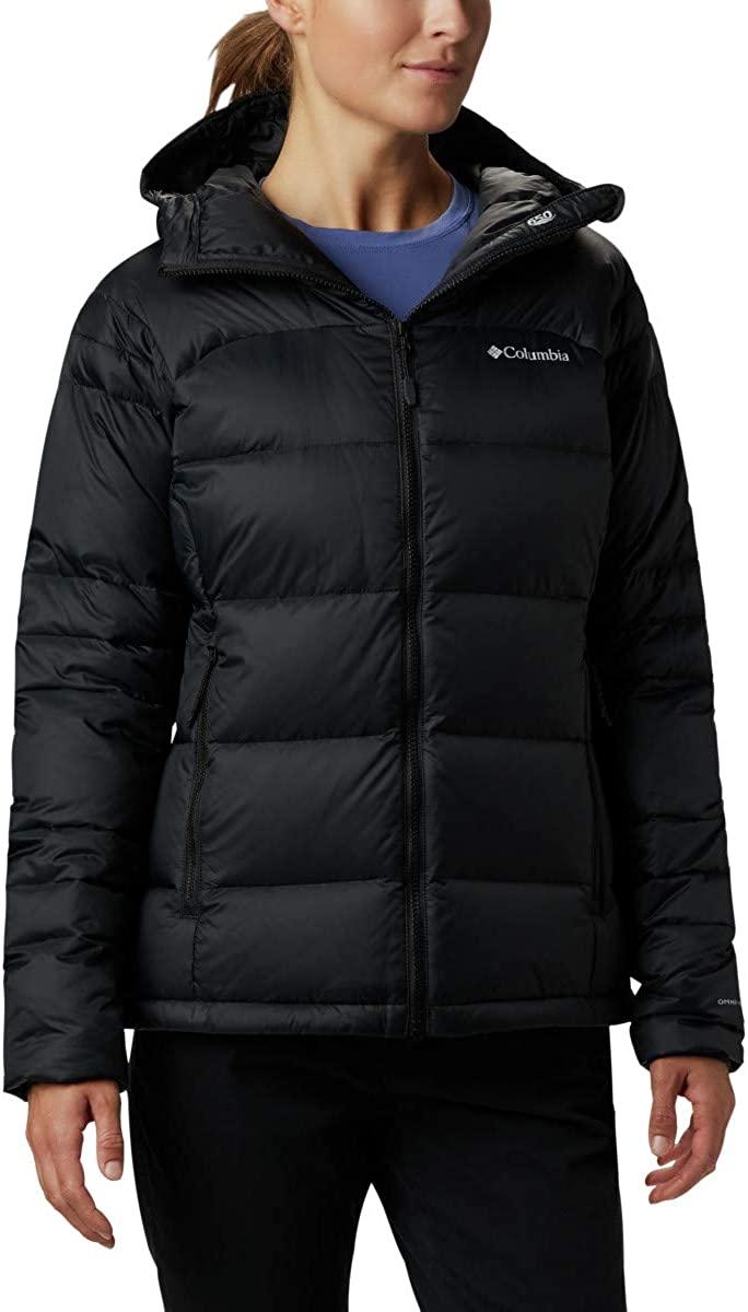 Columbia Women's Centennial Creek Down Hooded Winter Jacket, Water repellent