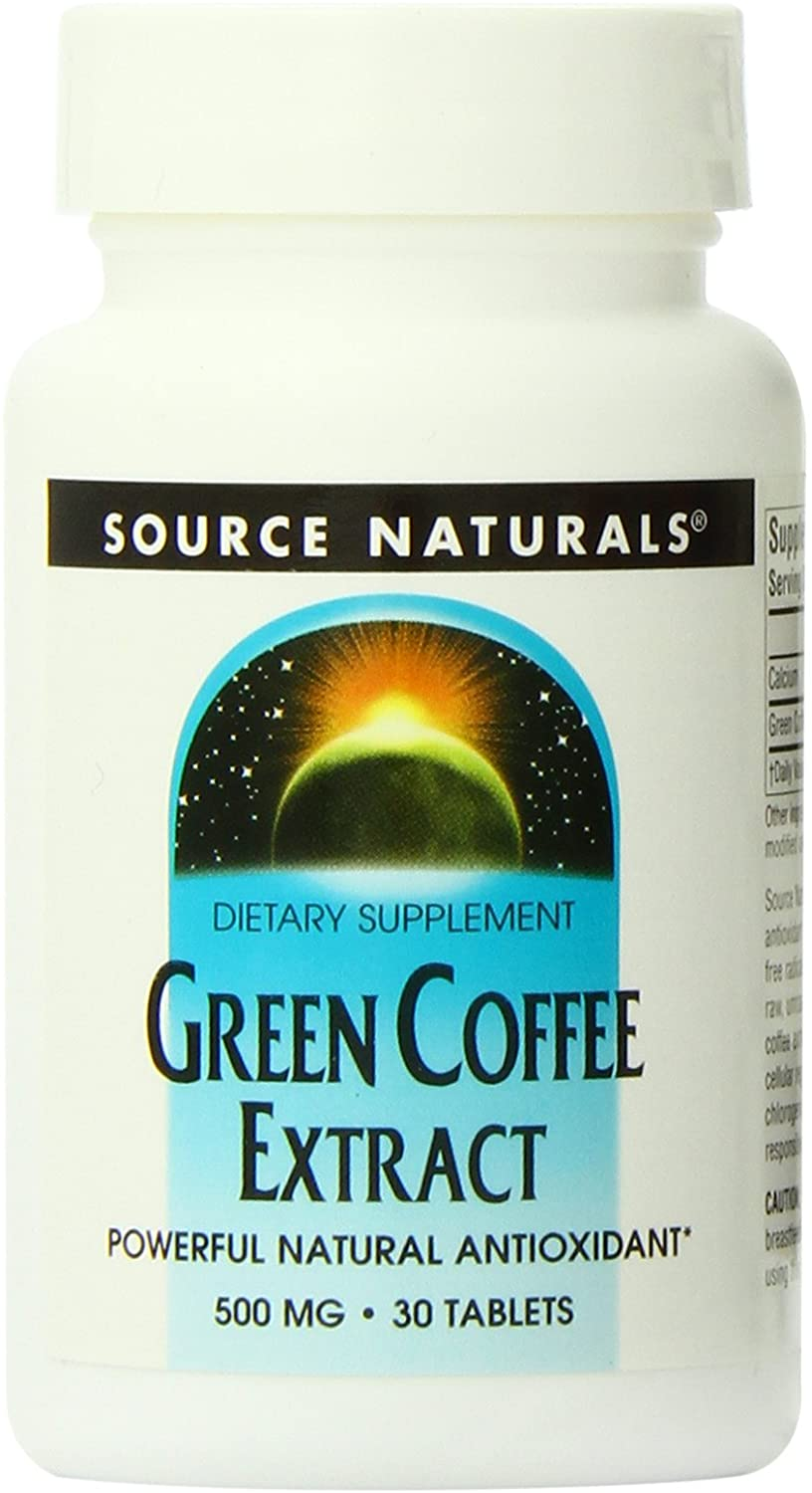 Source Naturals Green Coffee Extract, 30 Tablets