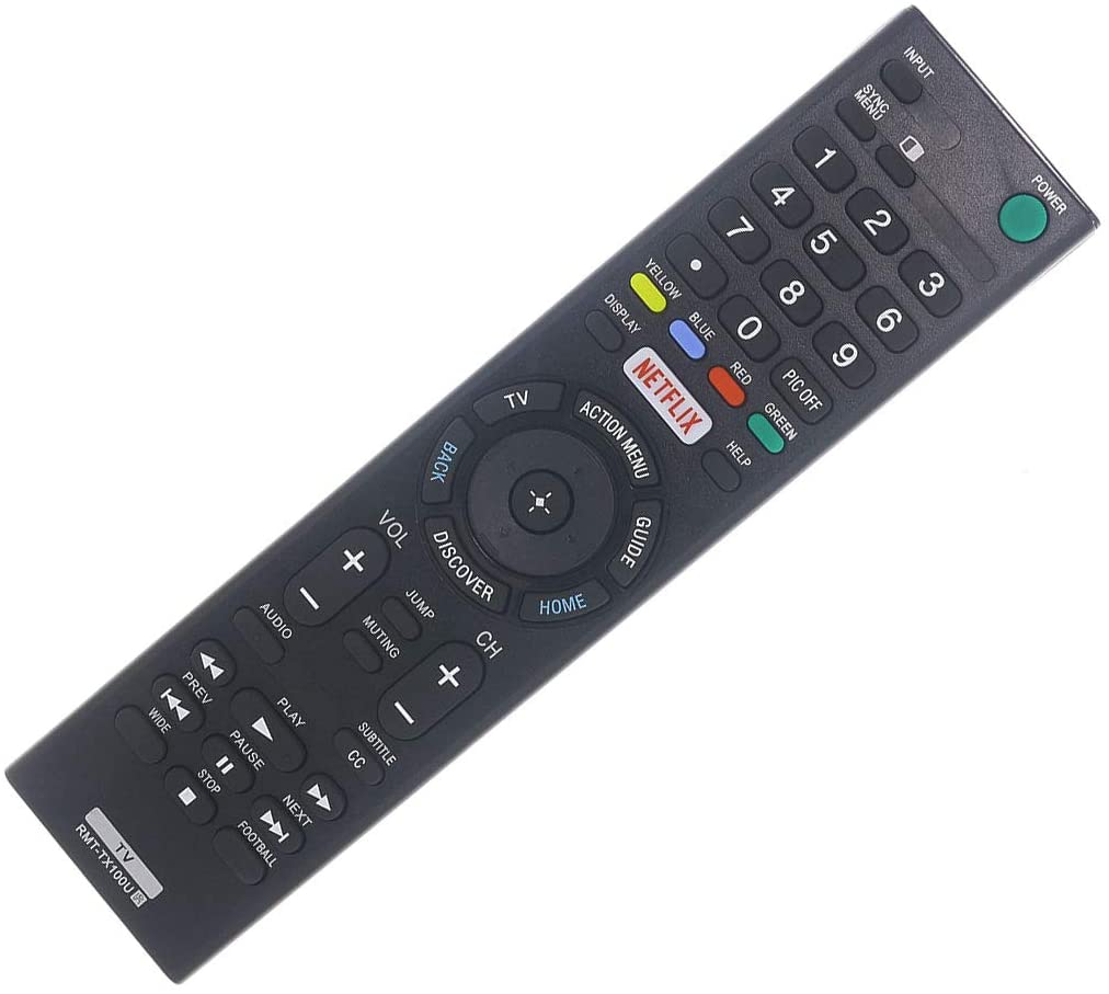 DEHA TV Remote Control for Sony KDL55W850C Television