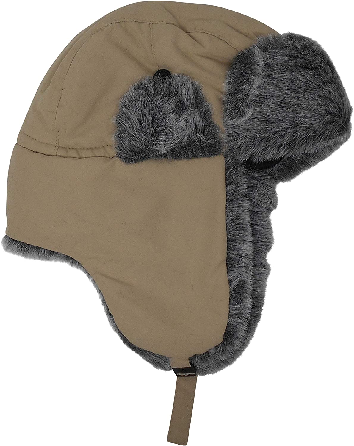 Chapeau Tribe Premium Wool Trapper Hat with Faux Fur