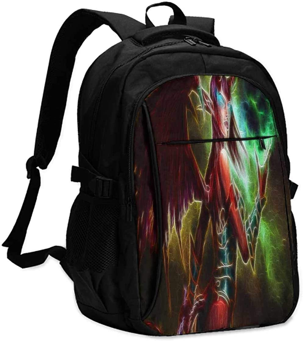 world of warcraft gifts  Unisex classic backpack Suitable for 16-inch laptops W13 x L18 x 8 Inch