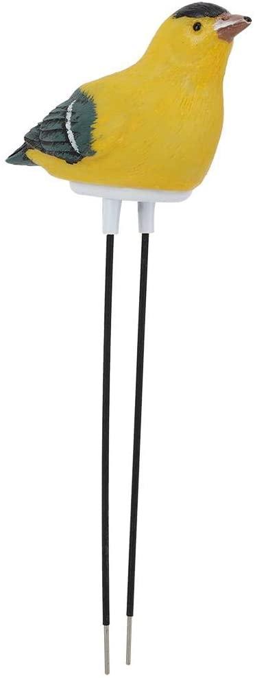 Soil Moisture Tester Plant Soil Moisture Sensor Meter Moisture Sensor Hygrometer for Garden(Battery Included)(Yellow)