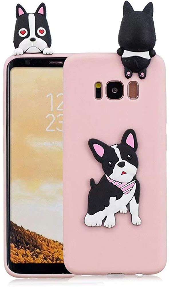 Galaxy S8 Plus Case, Kingtorn Cute 3D Cartoon Phone Case Full Protective Soft Silicone Rubber Phone Case for Samsung Galaxy S8 Plus for Girl Women