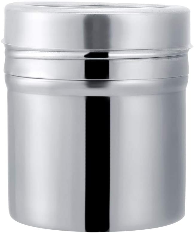 Spice Storage Jar, Stainless Steel Spice Jar/Coffee Bottle, Spices/Coffee Containers Jars with the Cover, Portable Small Kitchen Tool, Reusable & Durable, 3 Sizes(M)