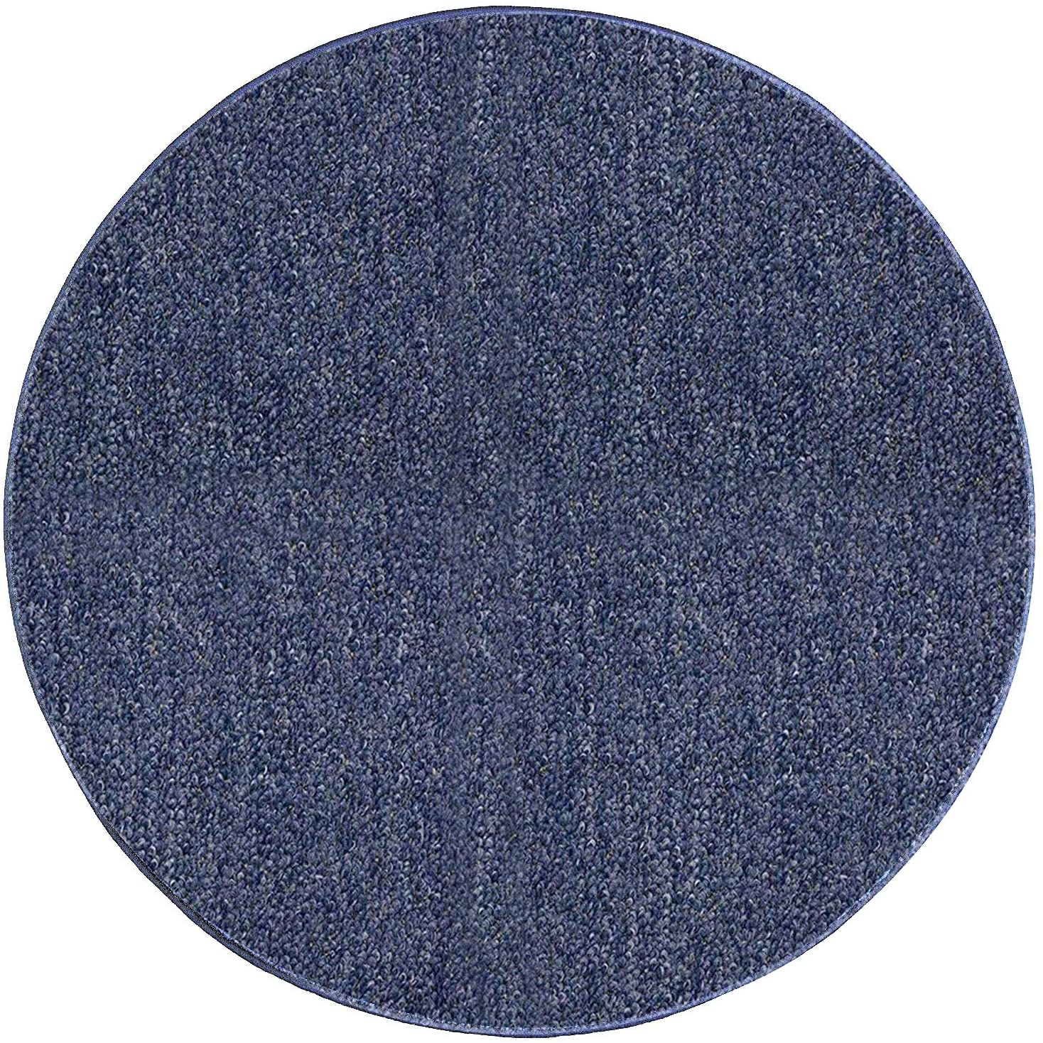 Ambiant Indoor Outdoor Area Rugs, Violet - 5' Round