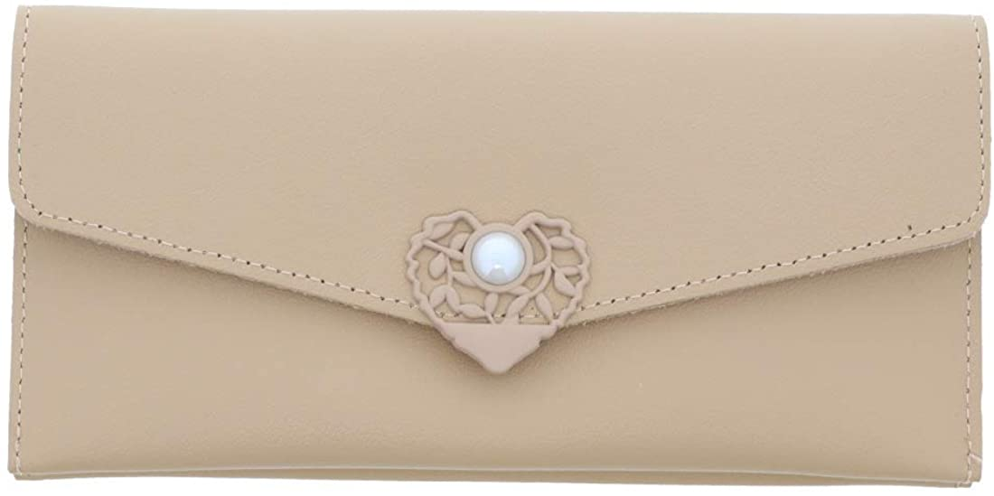 Wallet with Pearl Closure