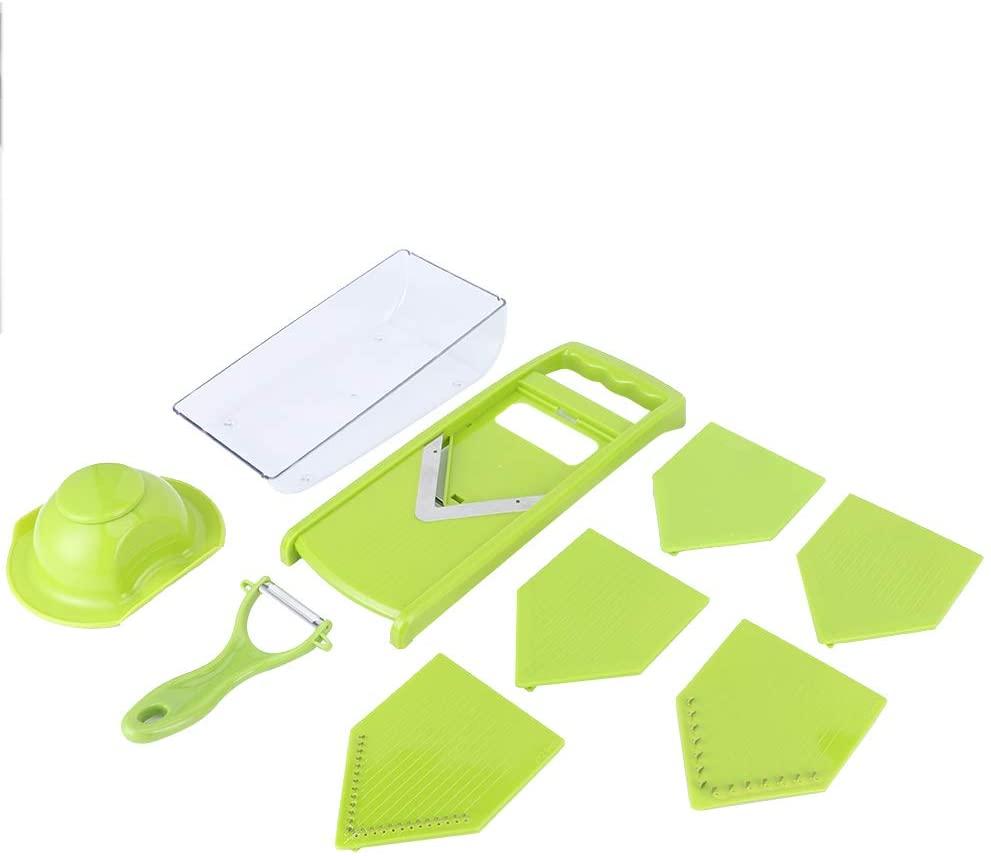 Food Cutter, Kitchen Accessory Kitchen Supplies Potato Grater, for Potatoes Kitchen(green)