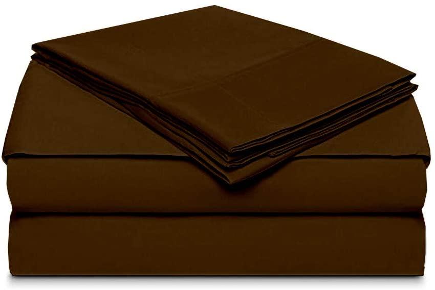 Rajlinen Split Head Flex Sheet Set for Adjustable Bed 4 Piece Made of 100% Egyptian Cotton Extra Deep Pocket 12-18 Inch 600 Thread-Count 34