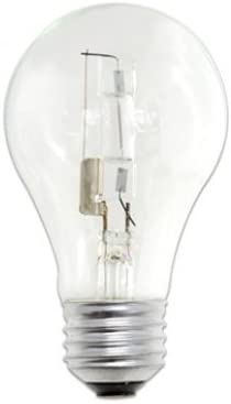 ColorView Super Bright 54 Watt (75 Watt Equivalent) Clear Edison Type Replacement Light Bulb. Pack of 10