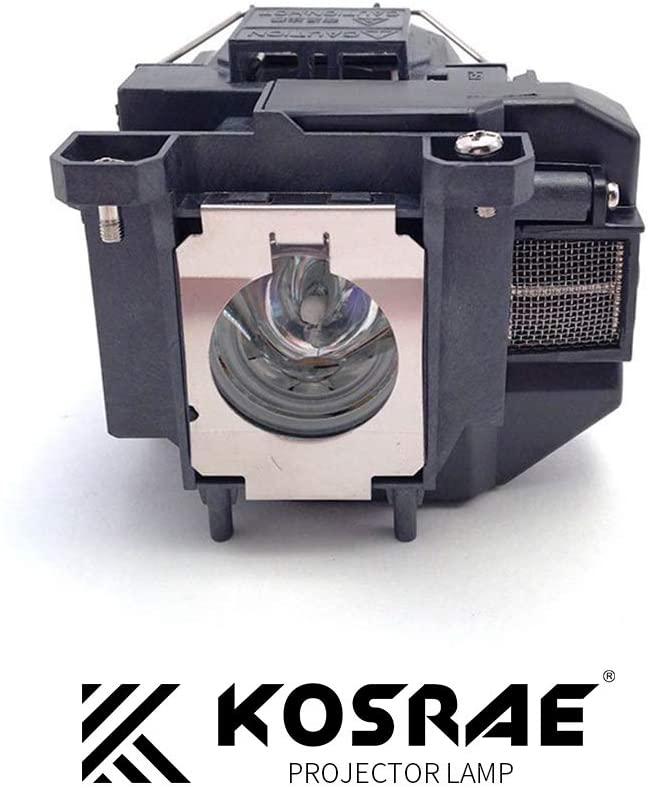 KOSRAE for ELPLP67 / V13H010L67 Projector Lamp Bulb for Epson EX3210 EX3212 EX5210 EX7210 H429A H428A H436A VS210 VS220 VS310 VS320 Replacement(Economical)