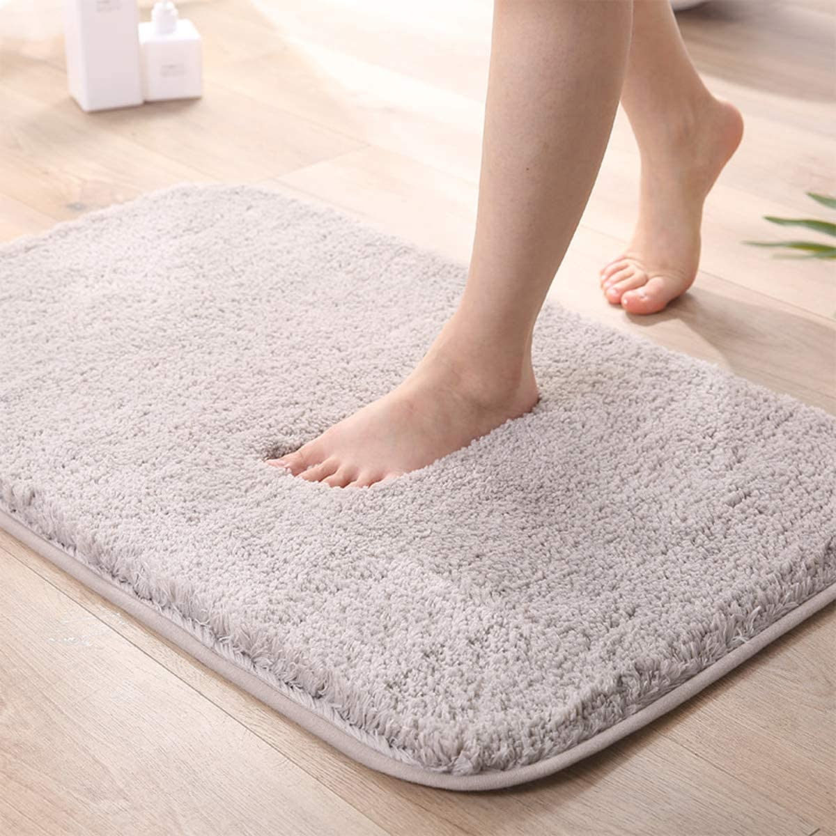 Fufengz Bathroom Carpet Mats, Super Soft and Absorbent Bathroom Carpets, Machine Wash/Dry Clothes, for Bathtubs, Showers and Bathrooms (24
