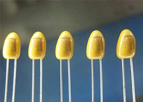 Tantalum Capacitors - Solid Leaded 35volts 4.7uF 20% - Pack of 10 (T350E475M035AT7301)