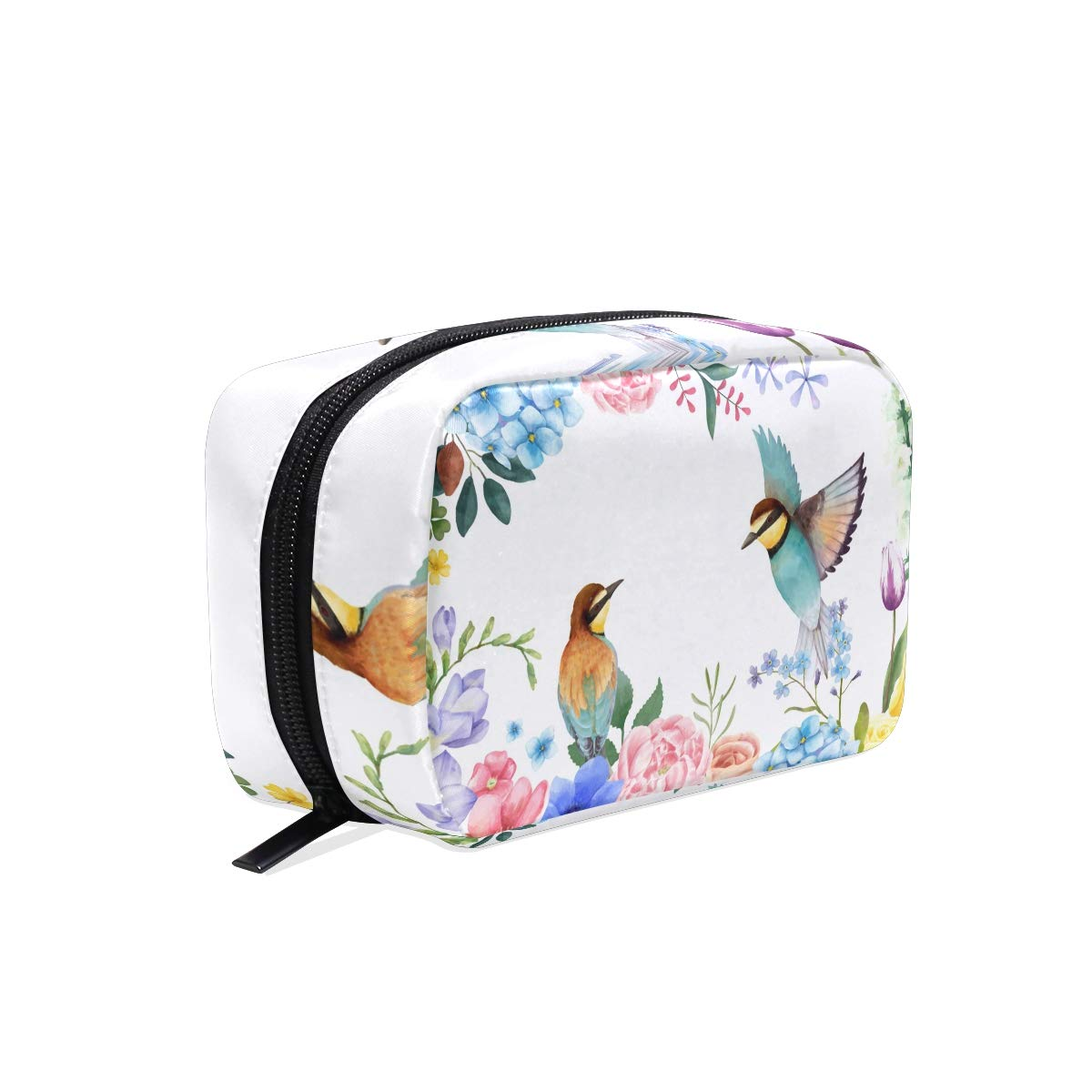 Makeup Bag Toiletry Bag Cosmetic Bags Twins Birds Storage Bag for Women Skincare Cosmetic Pouch