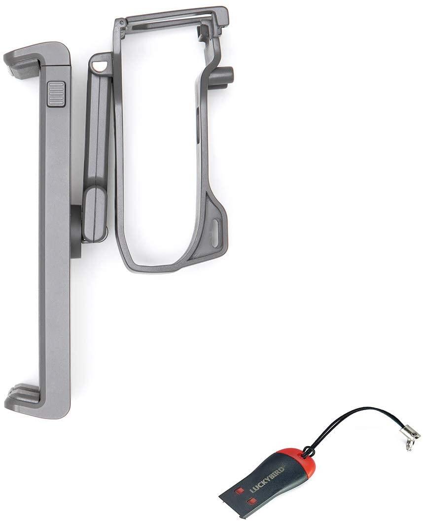 DJI Mavic Air 2 Remote Controller Tablet Holder with Luckybird USB Reader