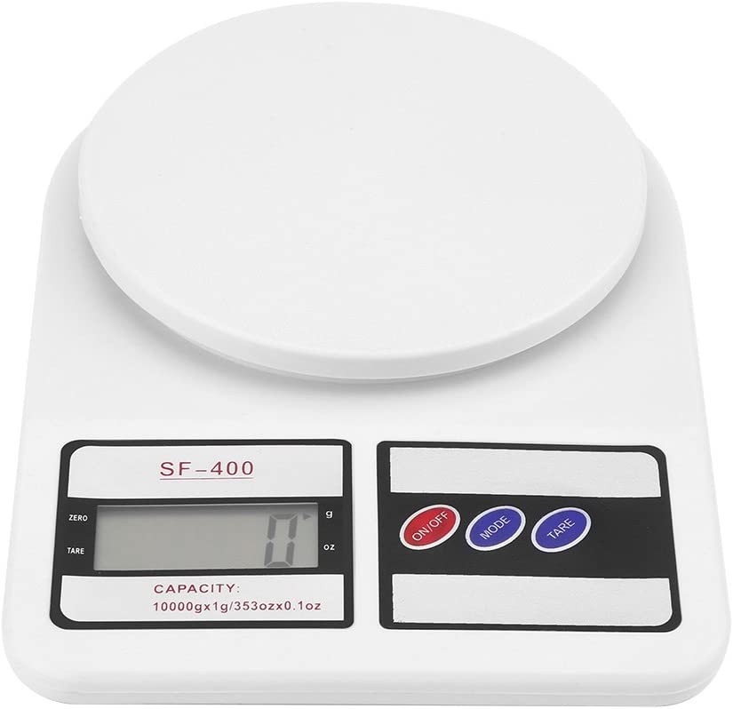 VIFER Scale, Big Capacity Electric Digital Scale Food Materials Weighing Kitchen Tool 10000g 353oz