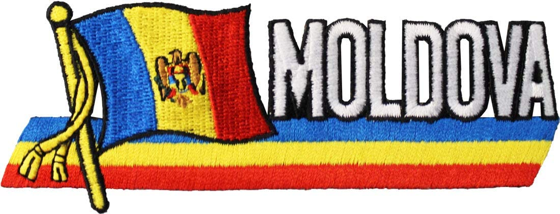 Moldova - Country Flag Patch