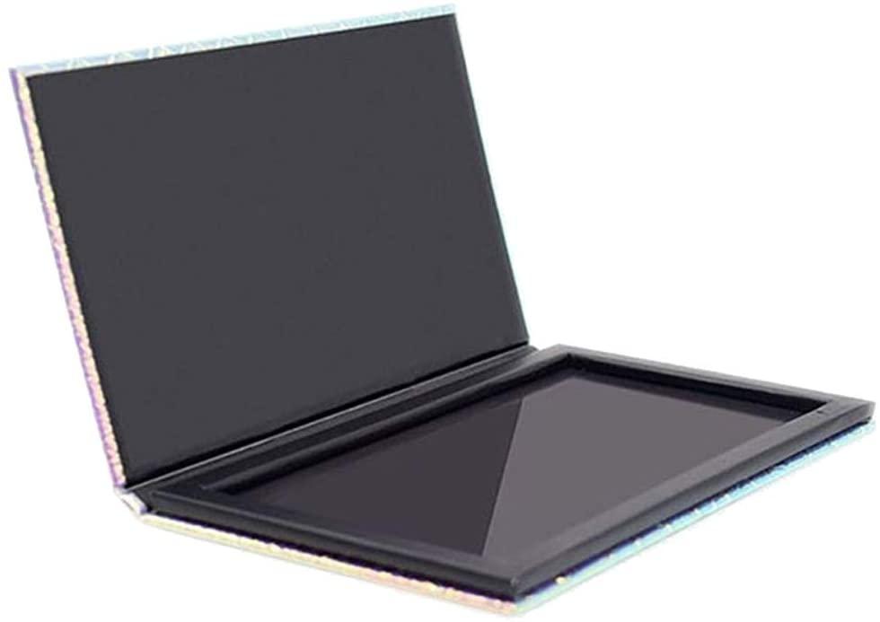 Makeup Palette,NDGDA Empty Magnetic Palette Pad Leopard Large Pattern DIY Palette New (Black)