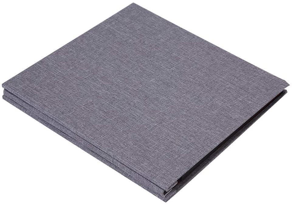 Simple Linen Cover DIY Self-Adhesive Album Scrapbook Handmade Creative Craft 20 Pages