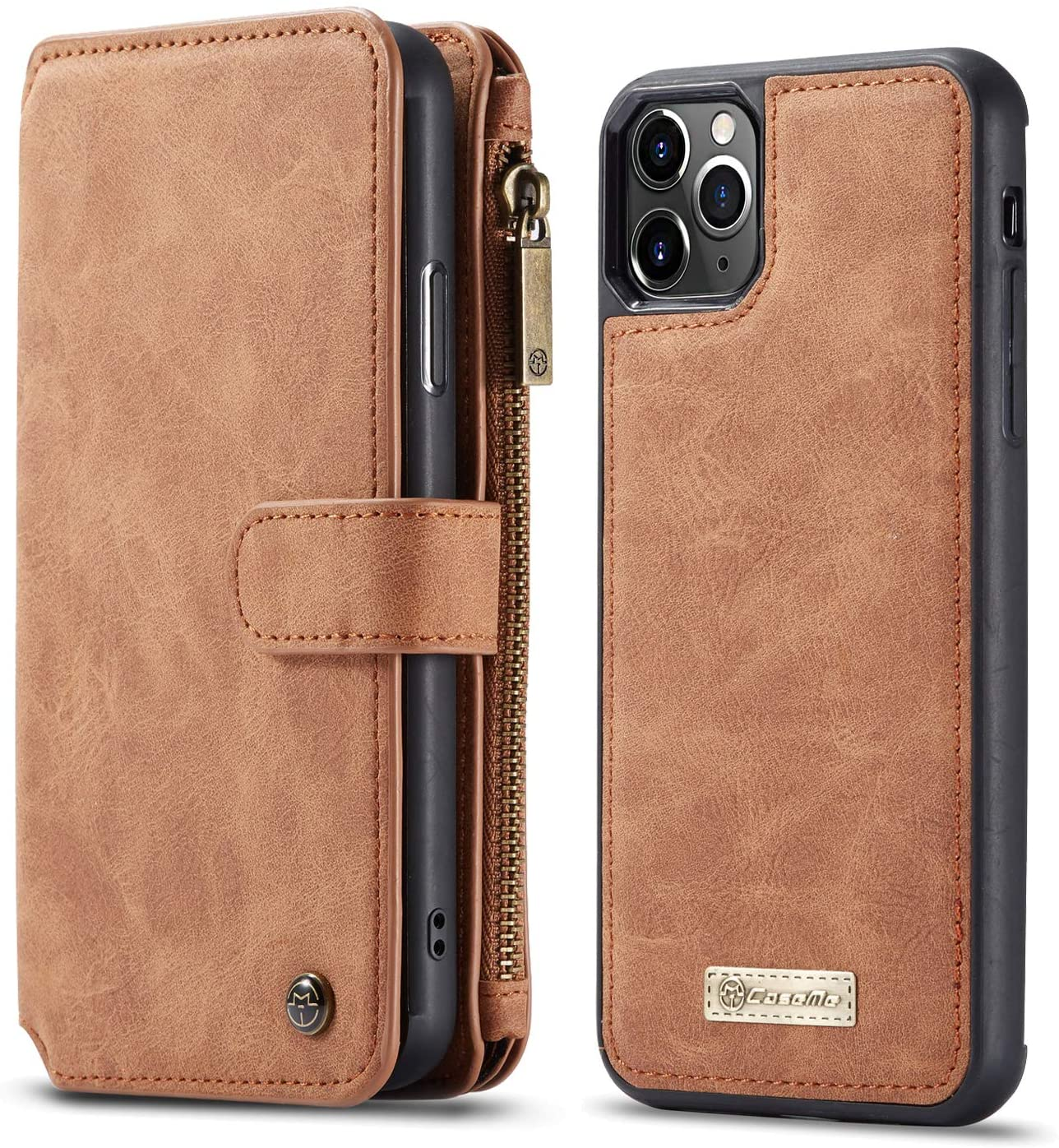 iPhone 11 Flip Case Leather Cover Premium Business Kickstand Card Holders Wallet case