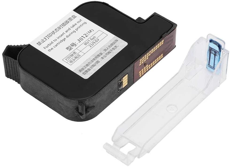 Black Quick-Drying Ink Cartridges Printing Supplies for 530 Handheld Date Coder Inkjet Printer