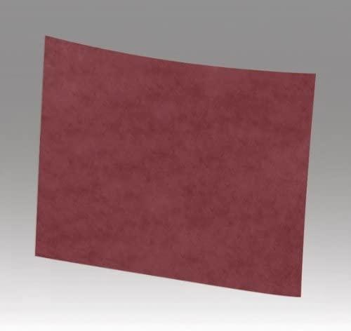 3M Scotch-Brite CF-SH Non-Woven Aluminum Oxide Sanding Sheet - Medium Grade - 9 in Width x 11 in Length - 00159 [PRICE is per CASE]