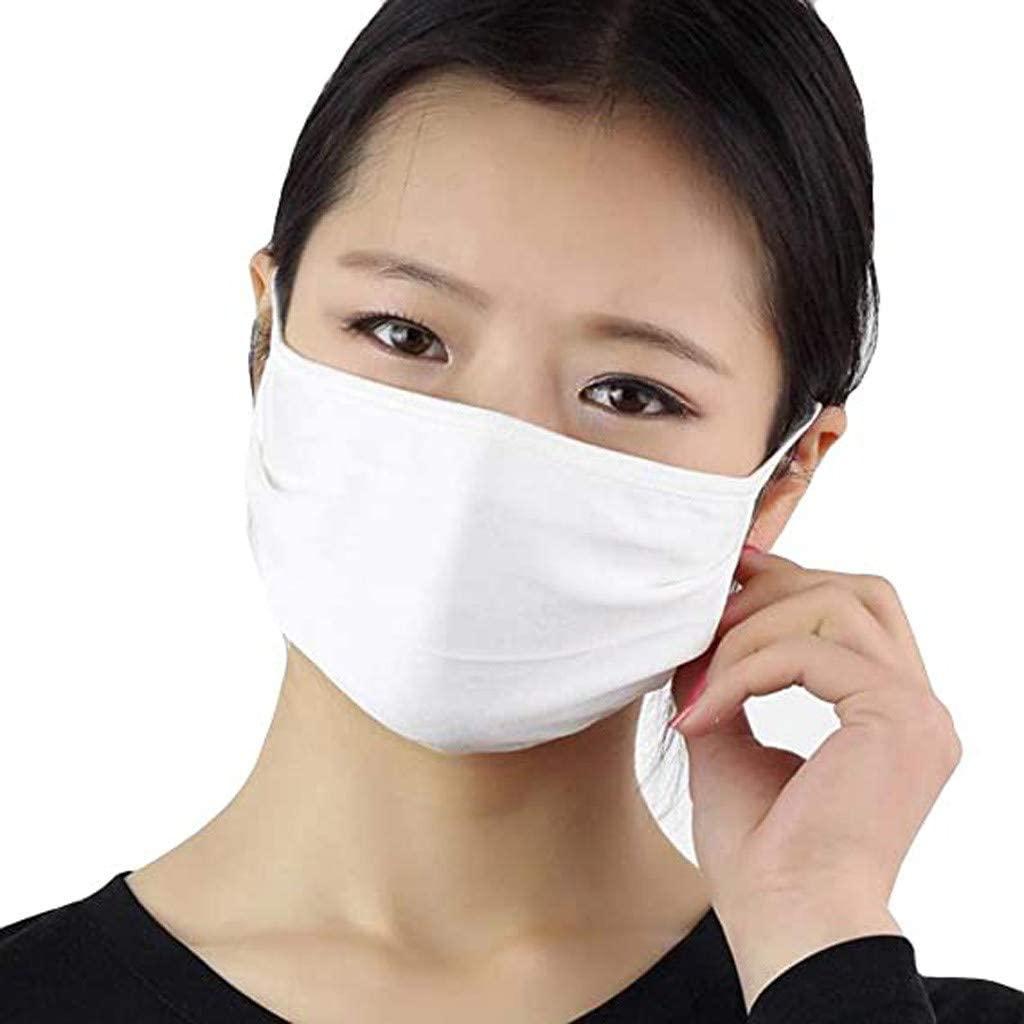 Fishoneion 5PCS Face Bandana Balaclava Anti-dust Reusable Mouth Cloth Pocket Face Protect Mouth For Man And Women