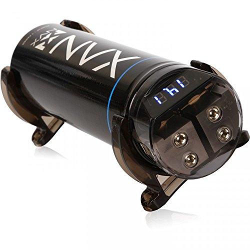 NVX True 1.0 Farad 20V Digital Capacitor with Digital Read-Out Built-in Distribution Block [XCAP1F]