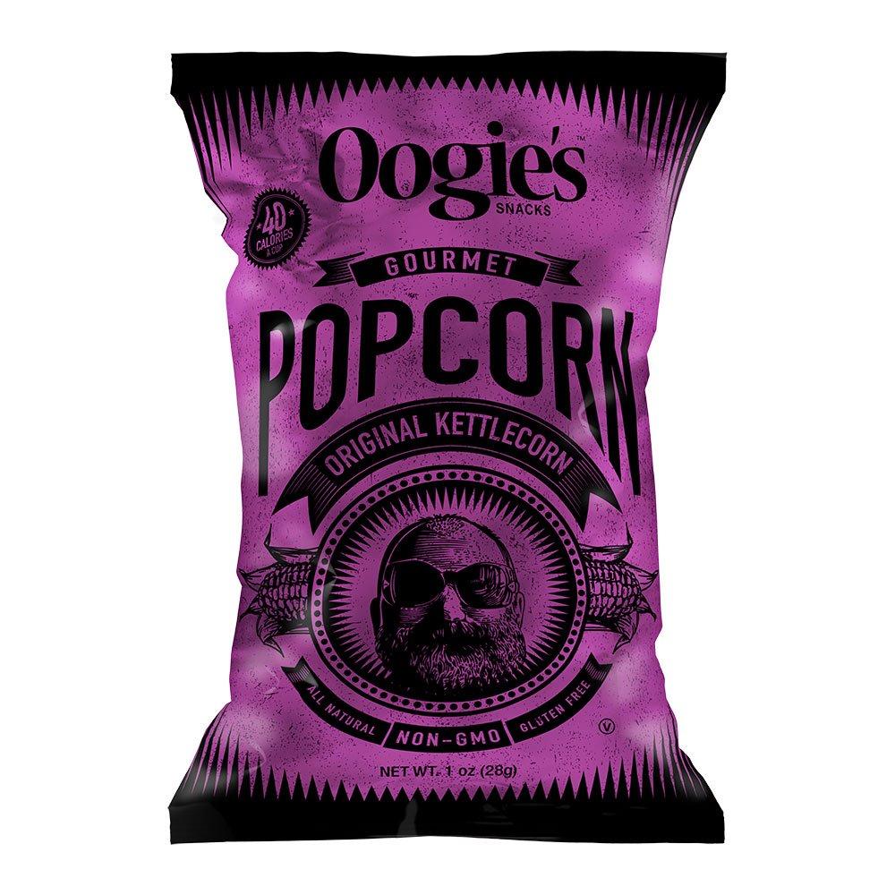 Oogie's Gourmet Popcorn, Original Kettlecorn, 1 Oz bag (Pack of 18)