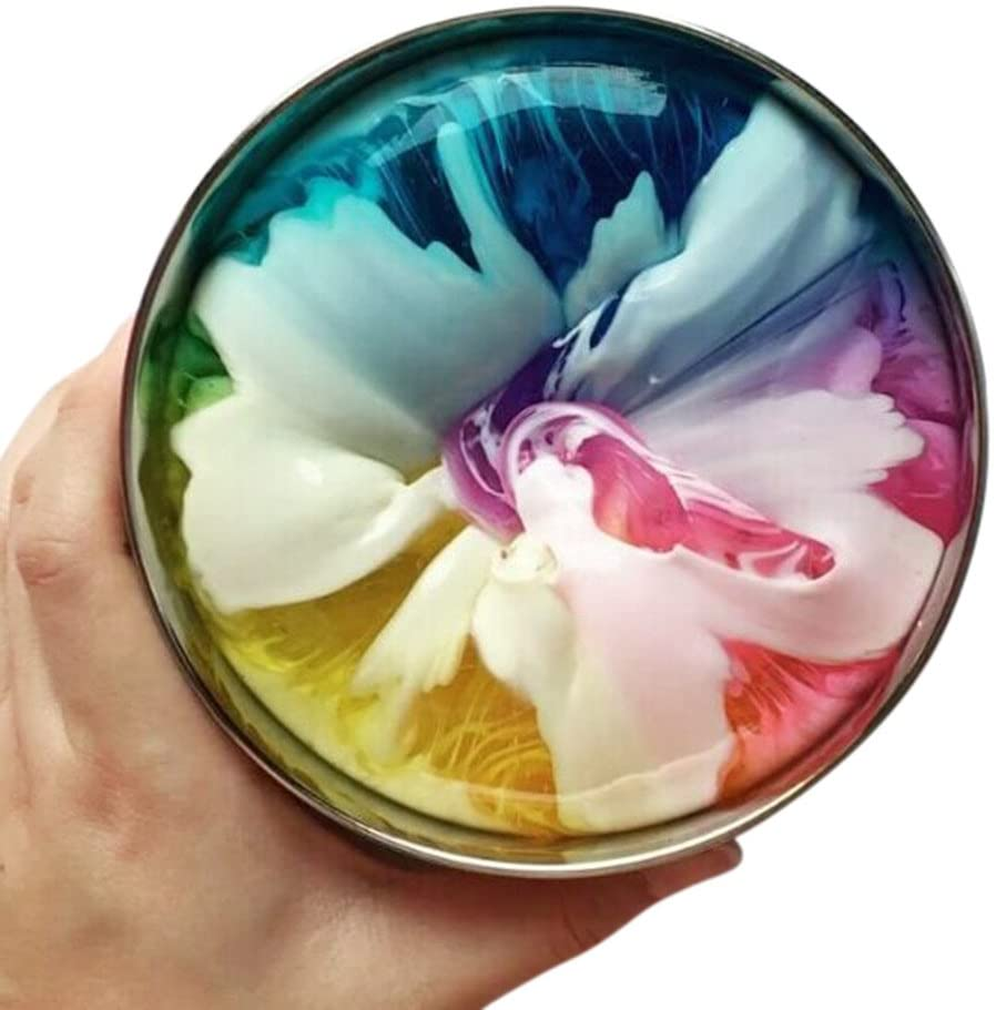 Aconka Ship from US Newest Slime Colorful Galaxy Mixing Cloud Slime Putty Scented Reduce Stress Toy Safe & Non-Toxic 100ml