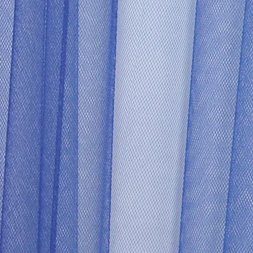 TCDesignerProducts Royal Blue Tulle Decorating Fabric, 54 Inches x 100 Yards