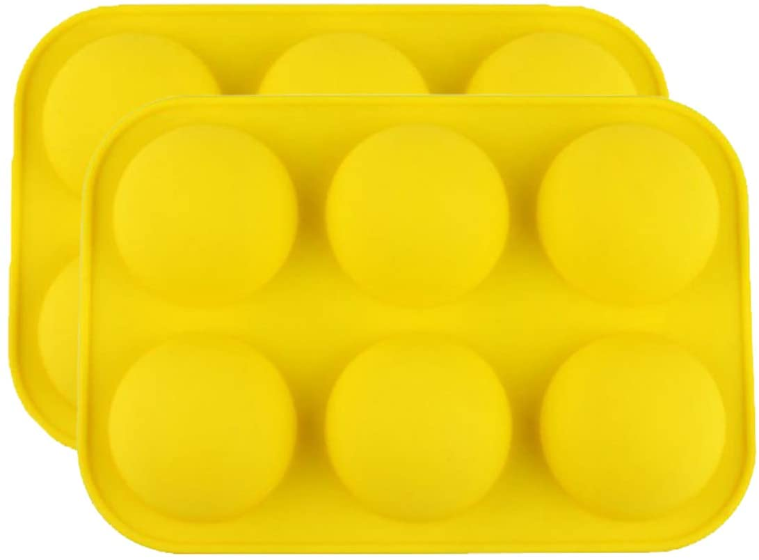 Half Ball Sphere Silicone Cake Mold Muffin Chocolate Cookie Baking Mould Decor Silicone Mold For Chocolate, Cake, Jelly, Pudding, Handmade Soap