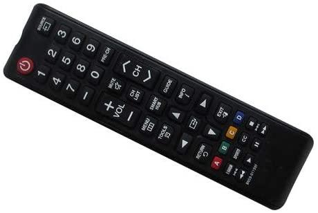 Easytry123 Remote Control for Samsung UE48H6640SL UE40H6640SL UE55H6500SL UE48H6500SL UE40H6500SL UE65H6470SS UE55H6470SS Smart LED HDTV TV