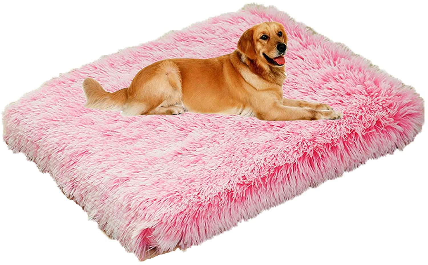 Teduola Dog Bed Mat Soft Crate Pad Washable Removable Anti-Slip for Large Medium Small Dogs and Cats Kennel Pad