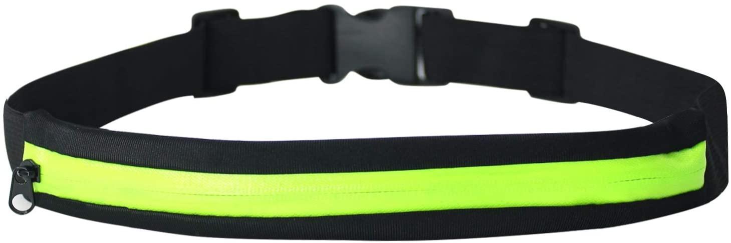 LIFESPELL Running Belt 1 Pocket Waist Pack for Workout Fitness Lightwight Fanny Runner Bag Walking Jogging Exercise Sport