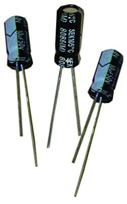 Aluminum Electrolytic Capacitors - Radial Leaded 100uF 35V Radial, Pack of 100 (SEK101M035ST)