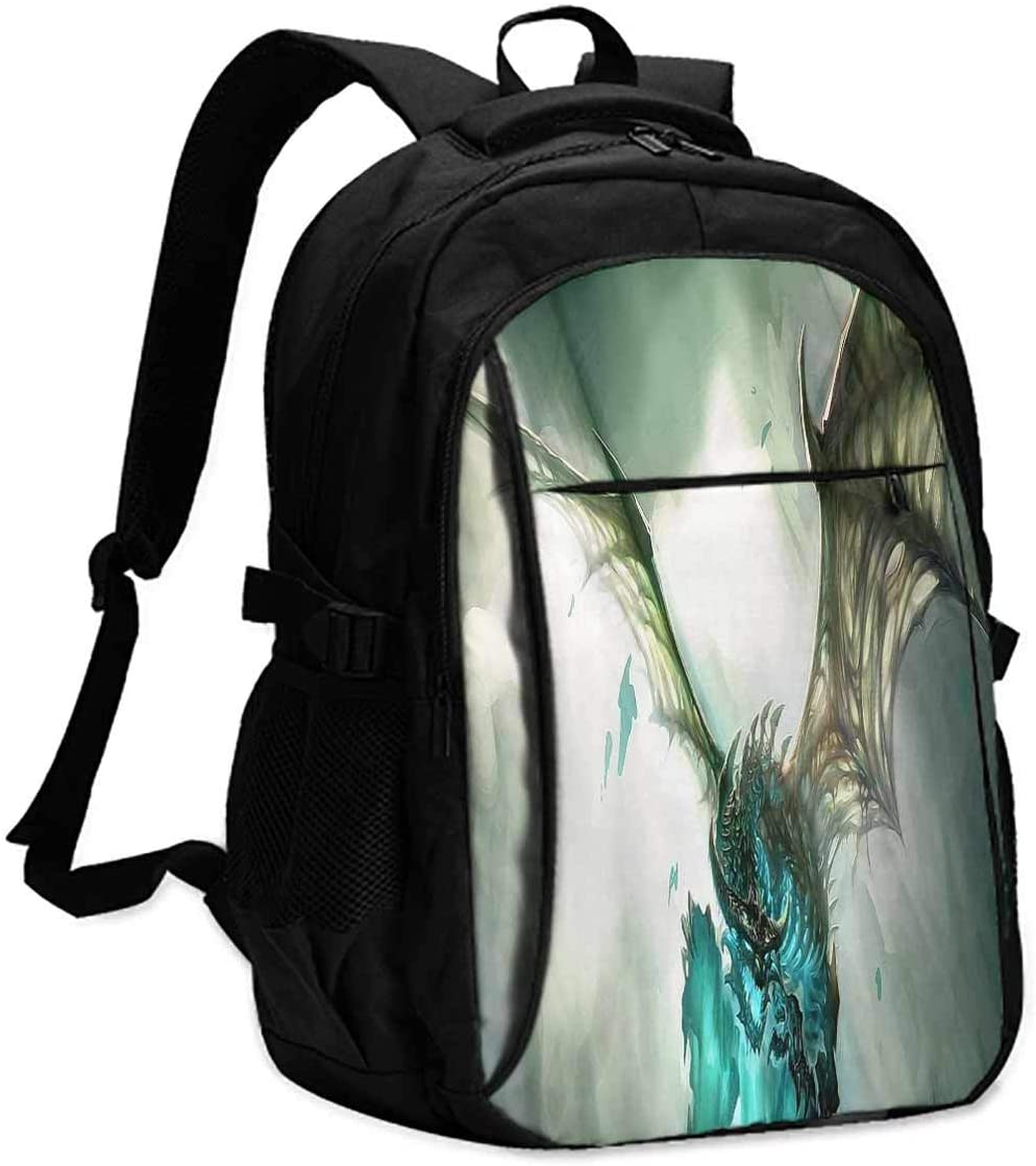 world of warcraft legion Unisex classic backpack Suitable for 16-inch laptops W13 x L18 x 8 Inch