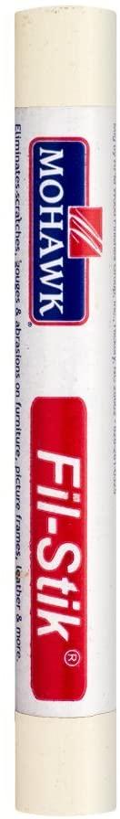 Mohawk Fill Stick (Fil-Stik) Putty Stick for Wood Repair (Mission Wall KMC)- Rub On Semi-Soft Wax Filler Stick