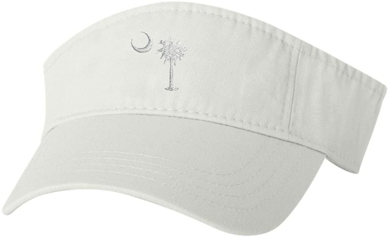 Adult South Carolina Flag Embroidered Visor Dad Hat